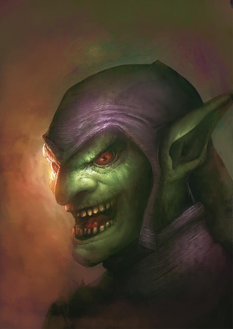 Green Goblin by davebrush
