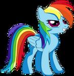 Determined RainbowDash