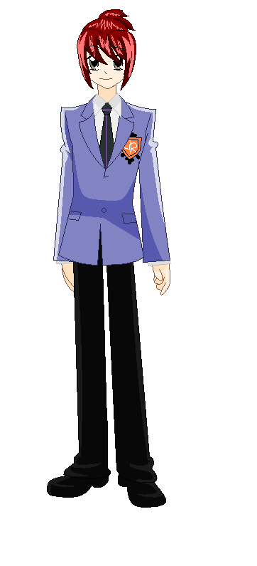 Ouran High School Host Club OC by JoTehDemonicPickle