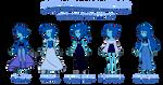 SU Adoptabes - Lapis Lazulis -OPEN- by JoTehDemonicPickle