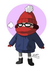 i hate winter lmao by JoTehDemonicPickle