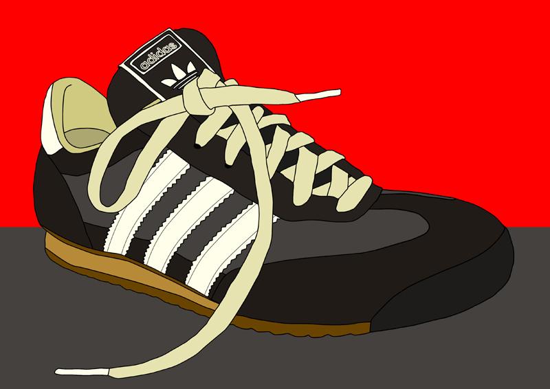 Secretario Tregua tienda  adidas illustration by meriagu on DeviantArt