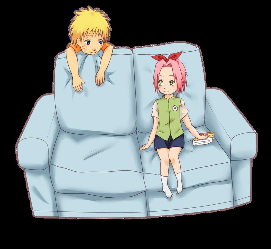 Cutie NaruSaku by Sukieyo