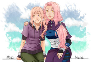 TG: Michi and Nene by Sukieyo