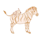 Zebra an cub adopt ota - open by 100LionAsses