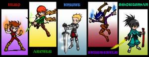 Medieval Heroes by gawakita
