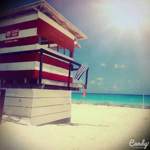 Full sun on the beach