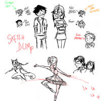 What If Sketch Dump by Ipku