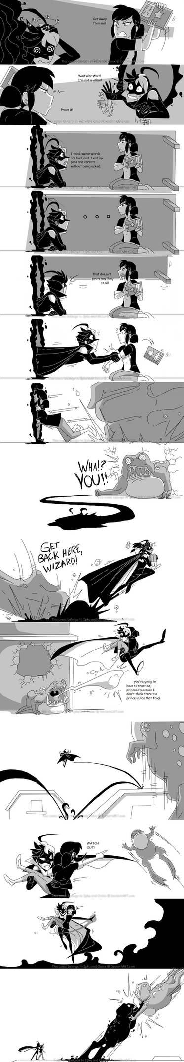 Ladybug meets Shadow's Tale - Page 5