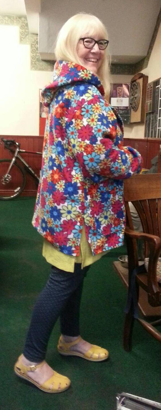 Flower Power Jacket by Wabbit-t3h