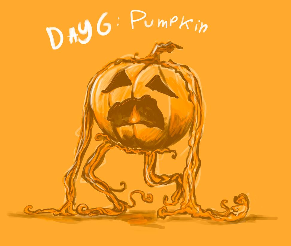 day 6: pumpkin - Halloween Contest by FmsFoinix