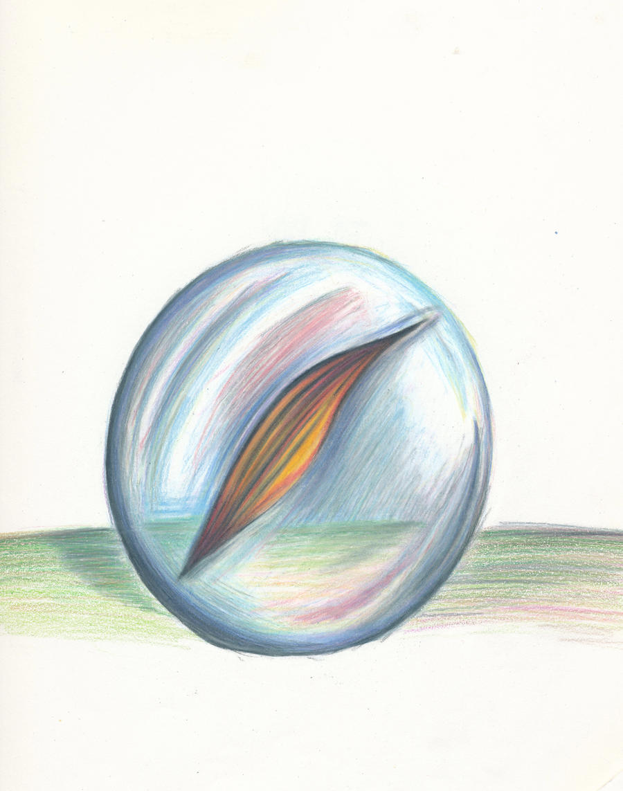Marble Colored Pencil Drawings Of Clusters : Marble sketch by skye fly on deviantart