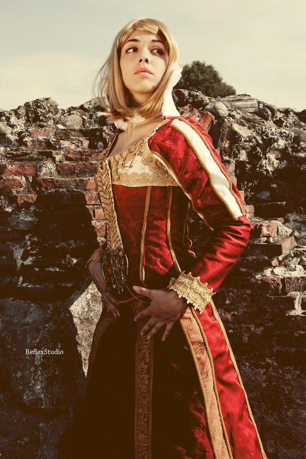 Assassin's Creed Brotherhood: Lucrezia Borgia by DeathWrathAngel