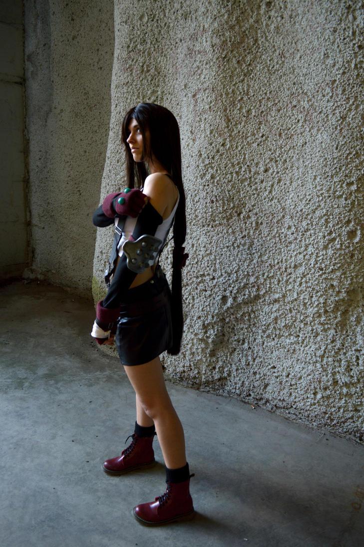 FF VII Tifa Lockhart by DeathWrathAngel