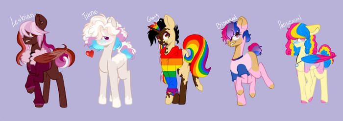 -OPEN- LGBTQ Adopts!! PRICE LOWERED (2/5 LEFT!)
