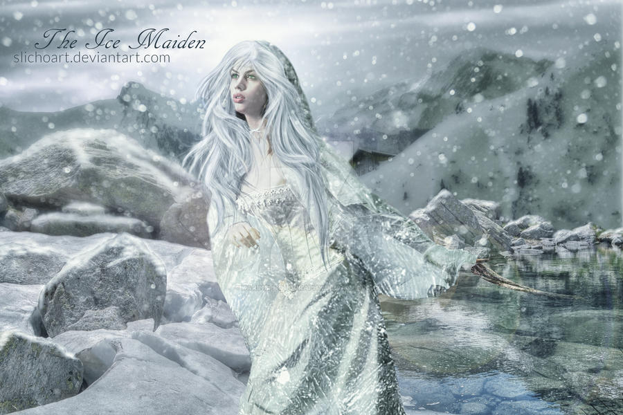The Ice Maiden by SlichoArt