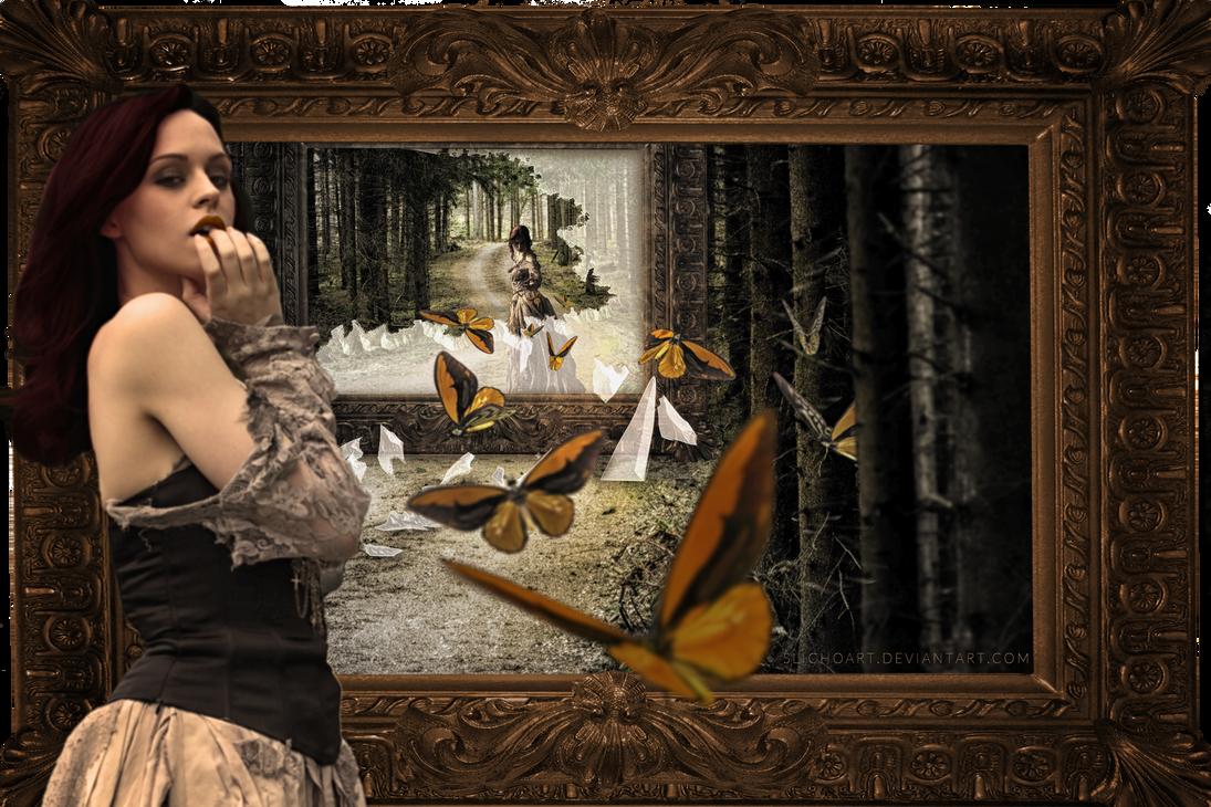 Only butterflies can by SlichoArt