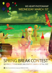 Springbreakposter by KarinSPhotography