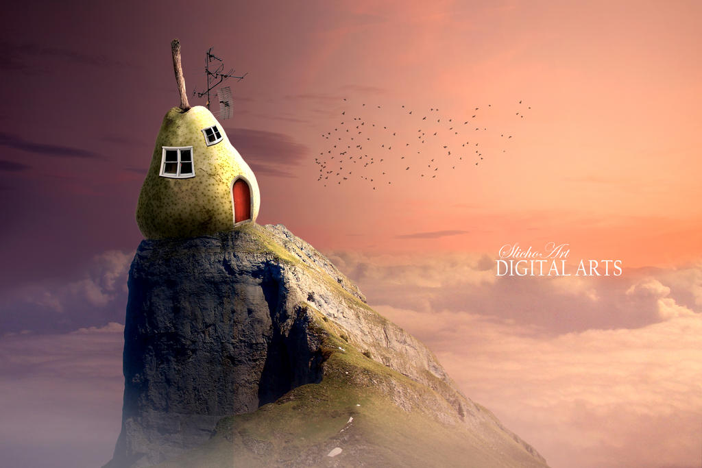 Biting Salamanca Lonely Pear House by SlichoArt