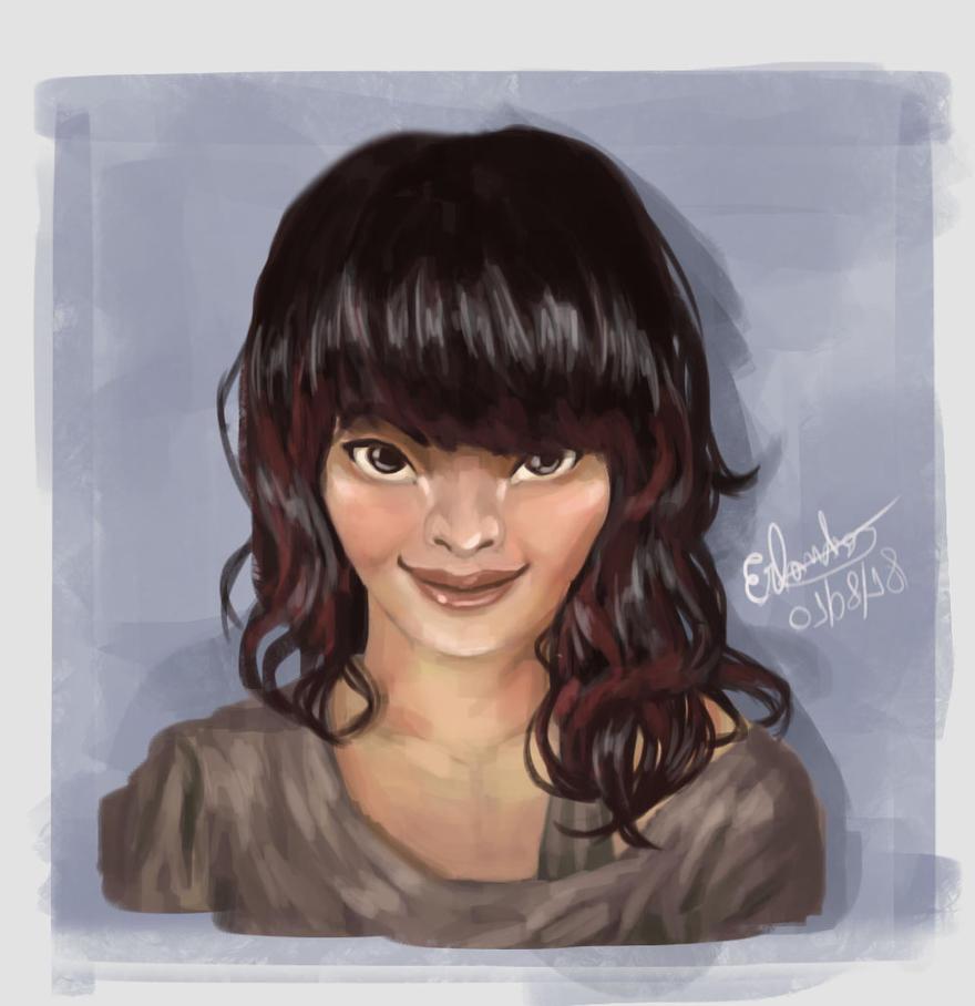 Portrait Loish! by Erlanderson