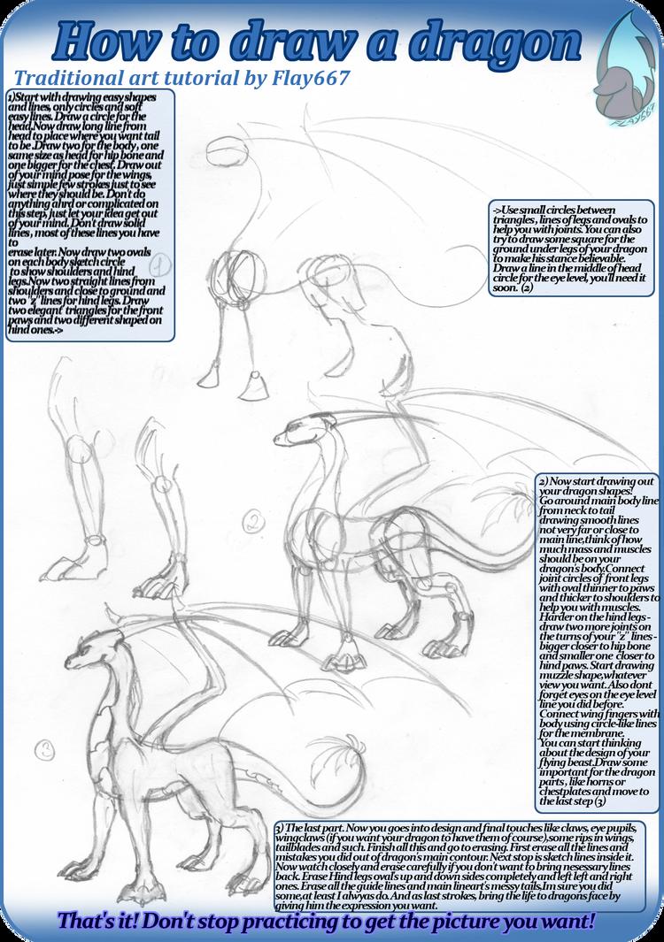 Step by step drawings of