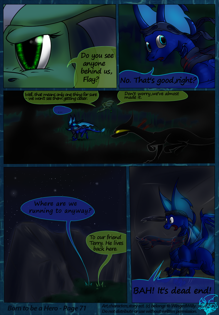 Born to be a Hero (Pg.71) by WingedWilly