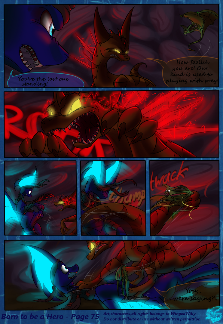 Born to be a Hero (Pg. 75) by WingedWilly