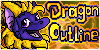 Dragon-outline group icon by WingedWilly
