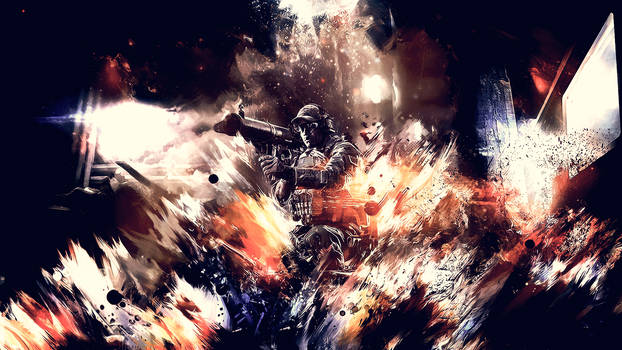 Battlefield 4 Smudge Wallpaper