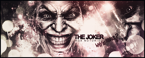 Joker Signature Request by RCDezine