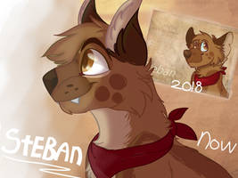 Steban [Up And Ahead FANART] -+REDRAW+-