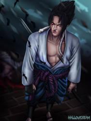 Sasuke Uchiha (commission example)