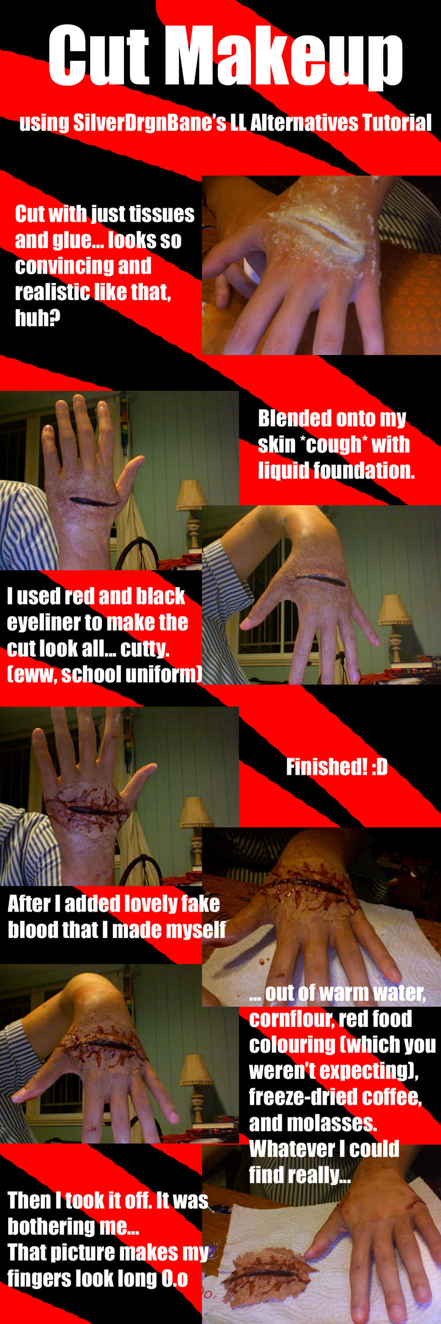 Cut Makeup