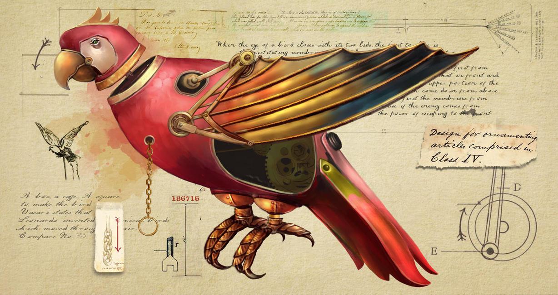 Parrot by anestezja