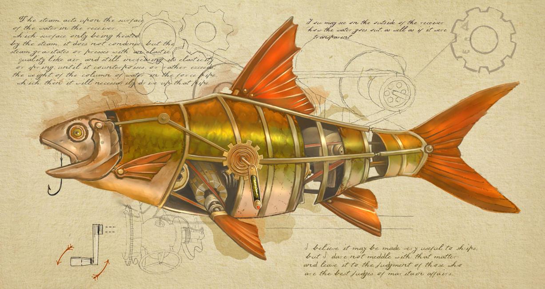 Fish by anestezja