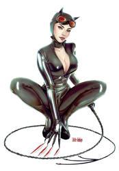Catwoman  fanart 2