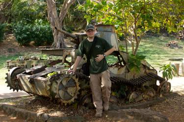 Type 95 Ha-go Tank, Saipan by Ironpaw