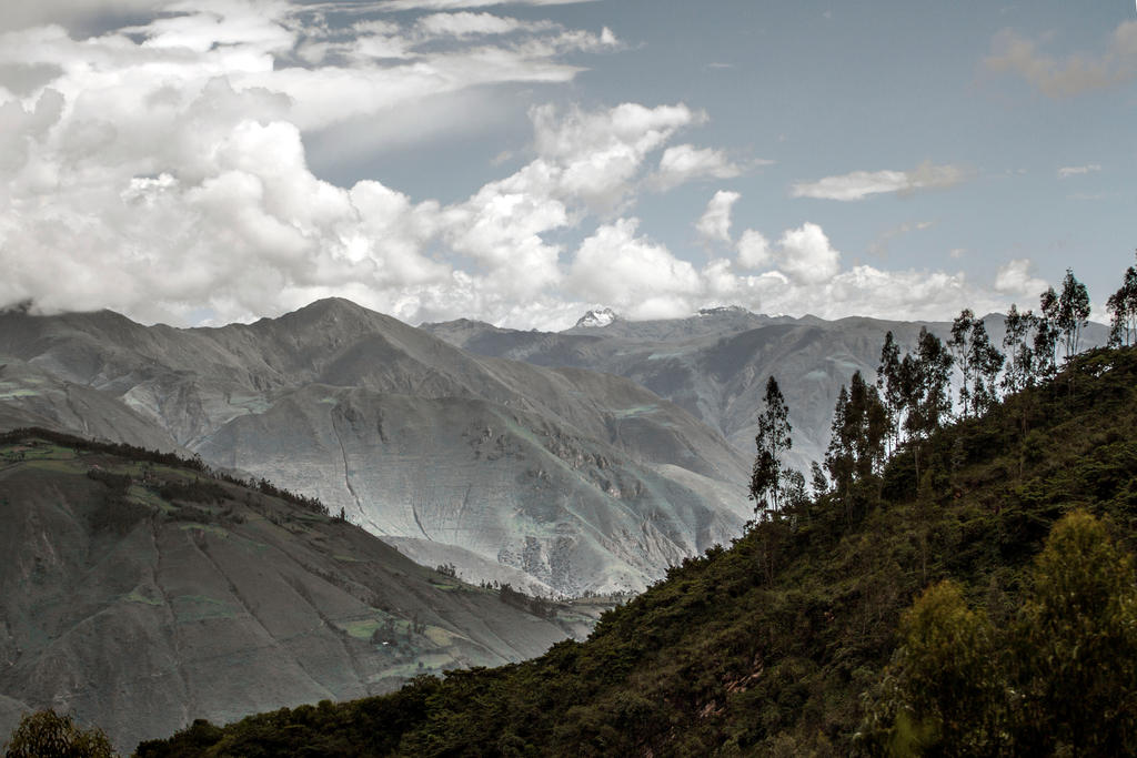 Andean Skyline by Ironpaw
