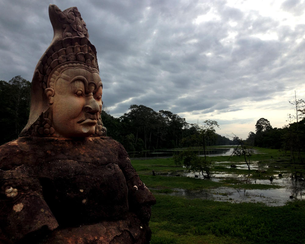 Angkor Complex Guardian by Ironpaw