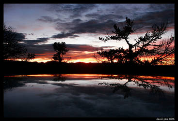 Vedauwoo Fall Sunrise by Ironpaw