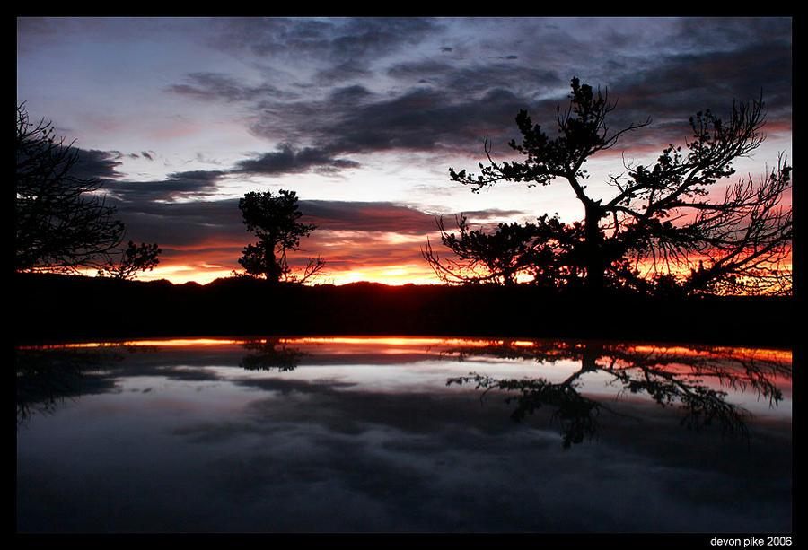 Vedauwoo Fall Sunrise