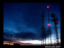 Antenna Dawn by Ironpaw