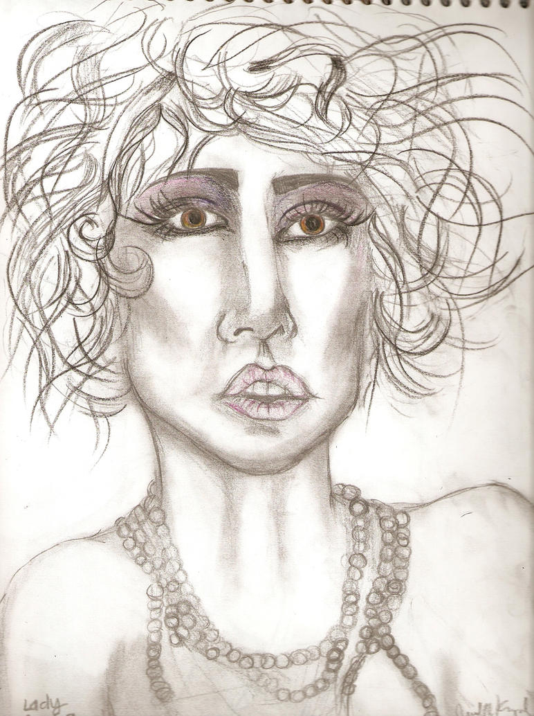 Lady GaGa by jisellekamppila