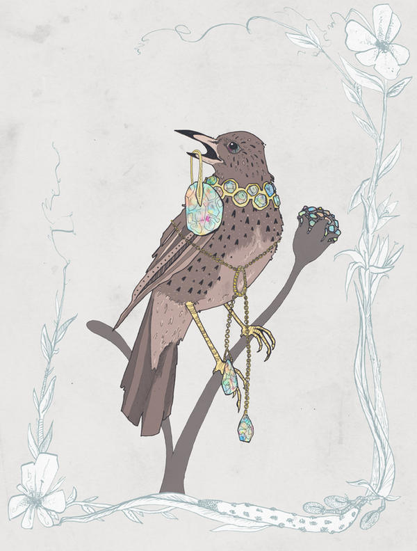 Jewel Thief by NicolaWallace