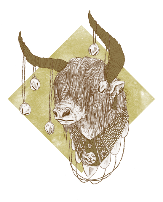 Taurus revisited by NicolaWallace
