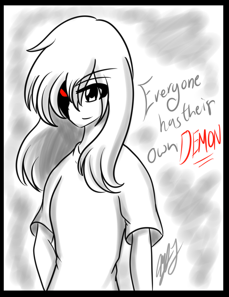 .:Collab:. Own Demon by chaosphoniex