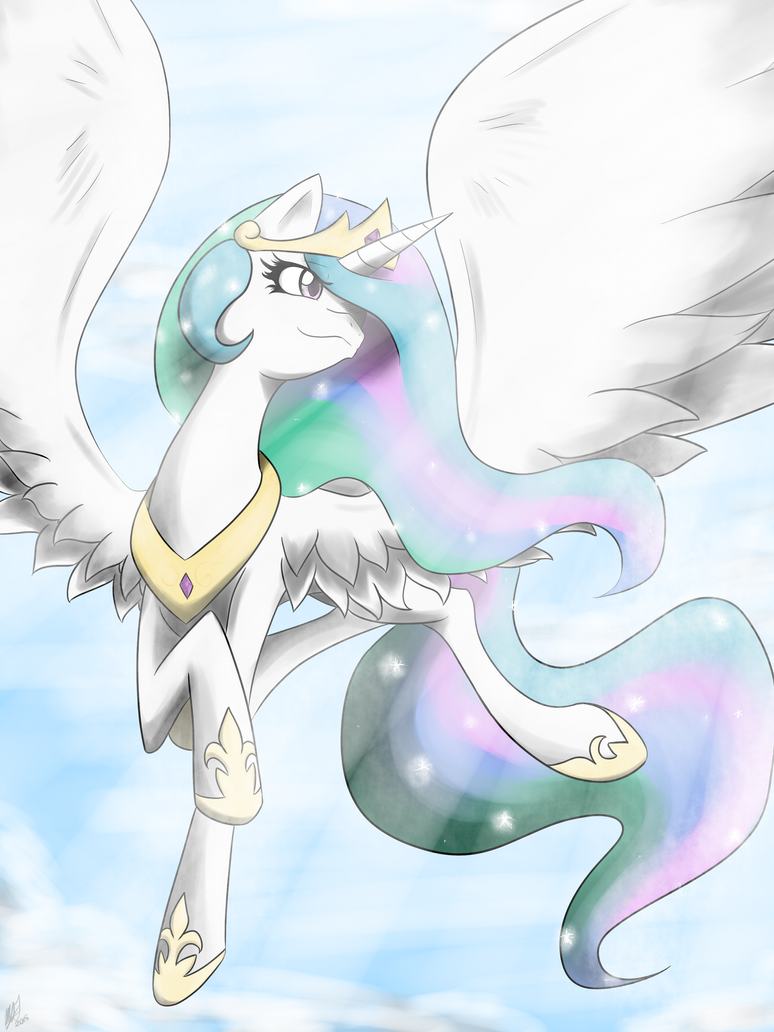 The Celestial Princess of the Sun by chaosphoniex