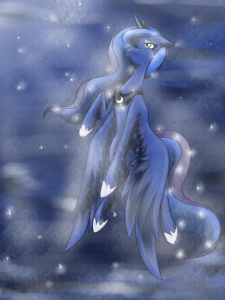 The Misunderstood Lunar Princess by chaosphoniex