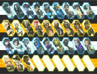 Overwatch Wallpaper by ManyLines