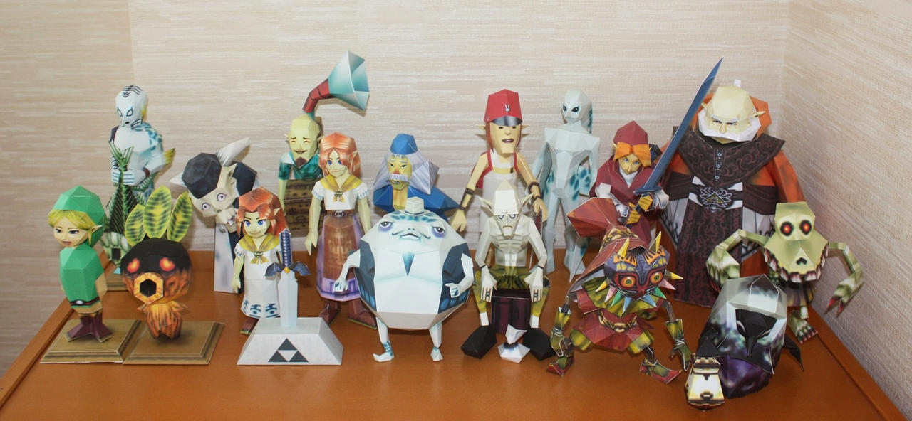 Papercraft Collection IX by XenonRay